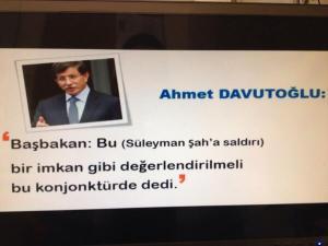 Davutoğlu MİT